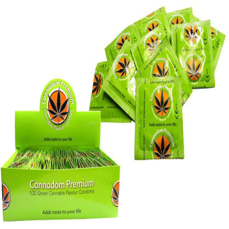Condoms Cannabis (Προφυλακτικά) - Συσκευασία 100 τεμαχίων